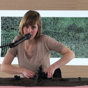 "Hedwig Houben, ""Six Possibilities For A Sculpture III"", Performance, Kunst Im Tunnel (KIT), Düsseldorf, 2011"